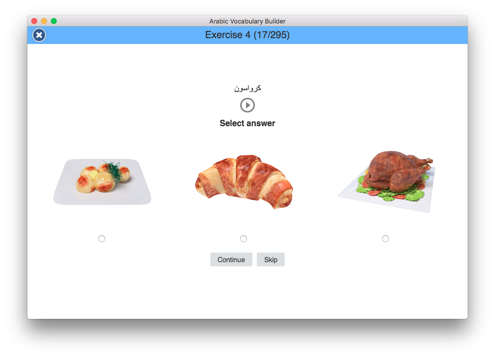 Arabic Visual Vocabulary Builder
