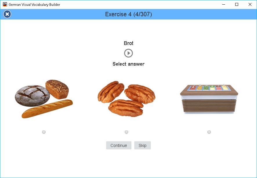 German Visual Vocabulary Builder