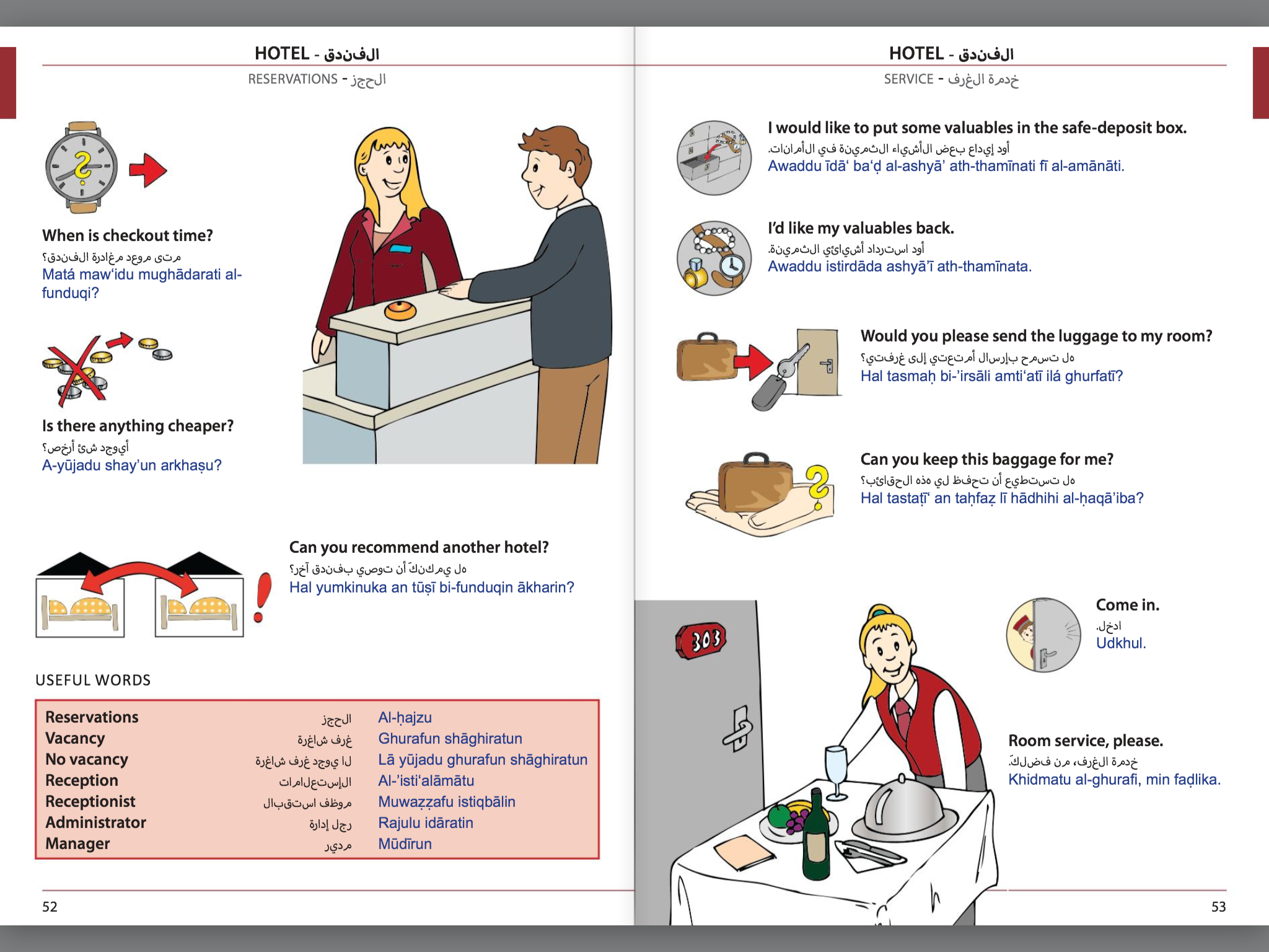 Visual Phrase Book Arabic
