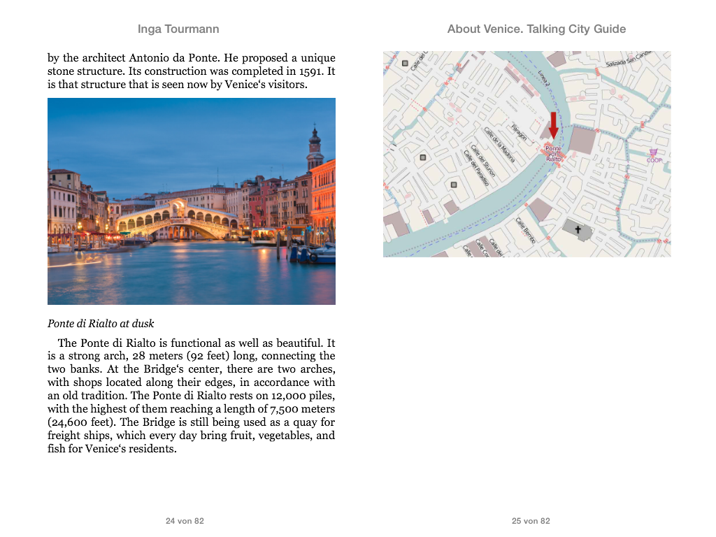 About Venice. Talking City Guide