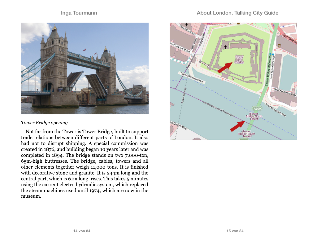 About London. Talking City Guide