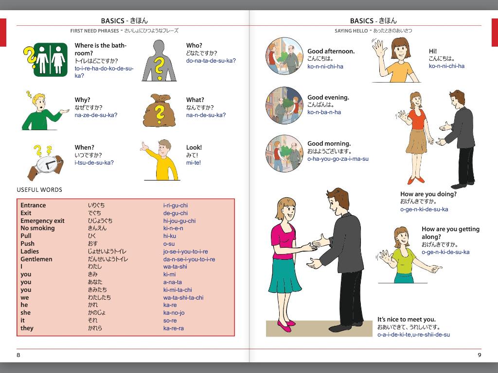 Visual Phrase Book Japanese