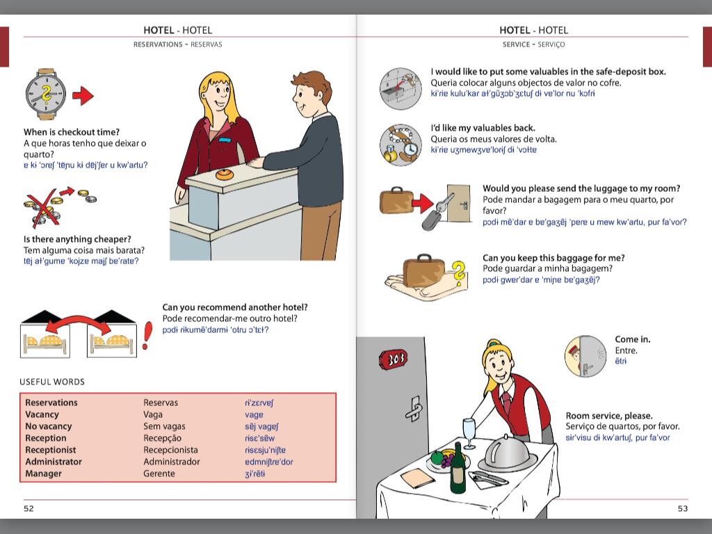 Visual Phrase Book Portuguese